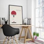 100 Jahre Bauhaus: Tolles Poster der Wagenfeld-Leuchte zum Selberdrucken