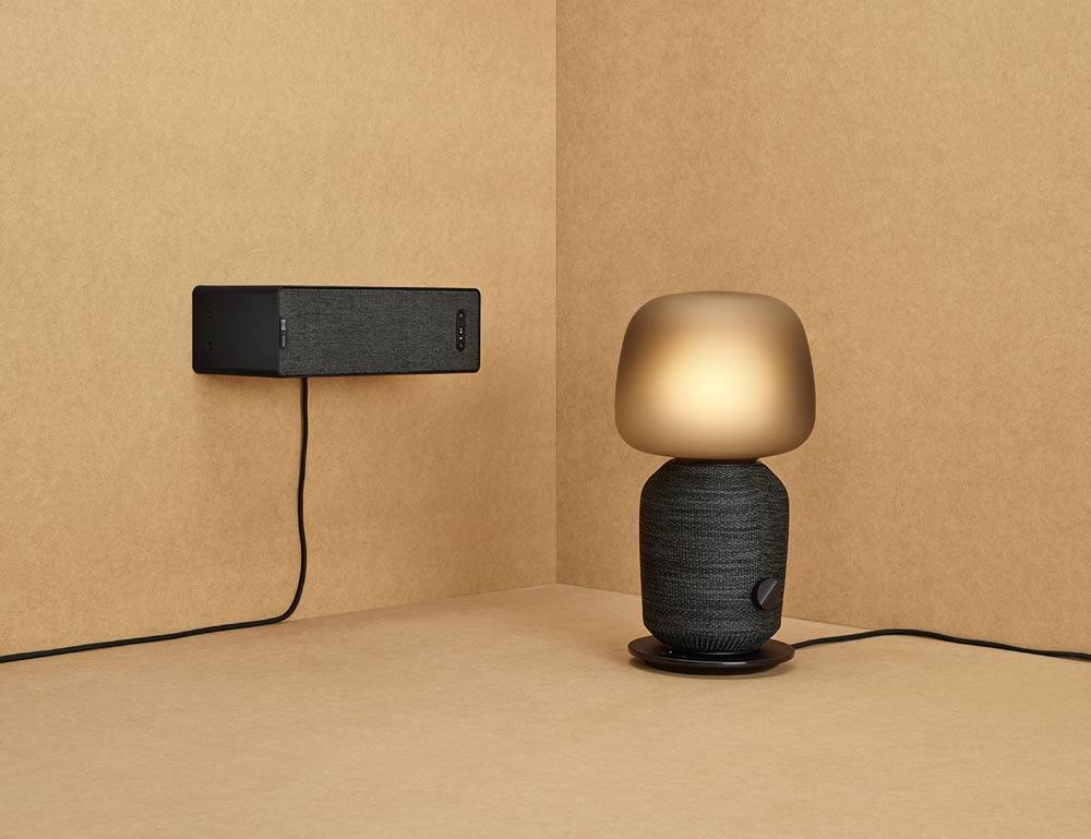 """""""Symfonisk""""-Wifi-Lautsprecher mit Lampe von Ikea und Sonos (Foto: Ikea)"""
