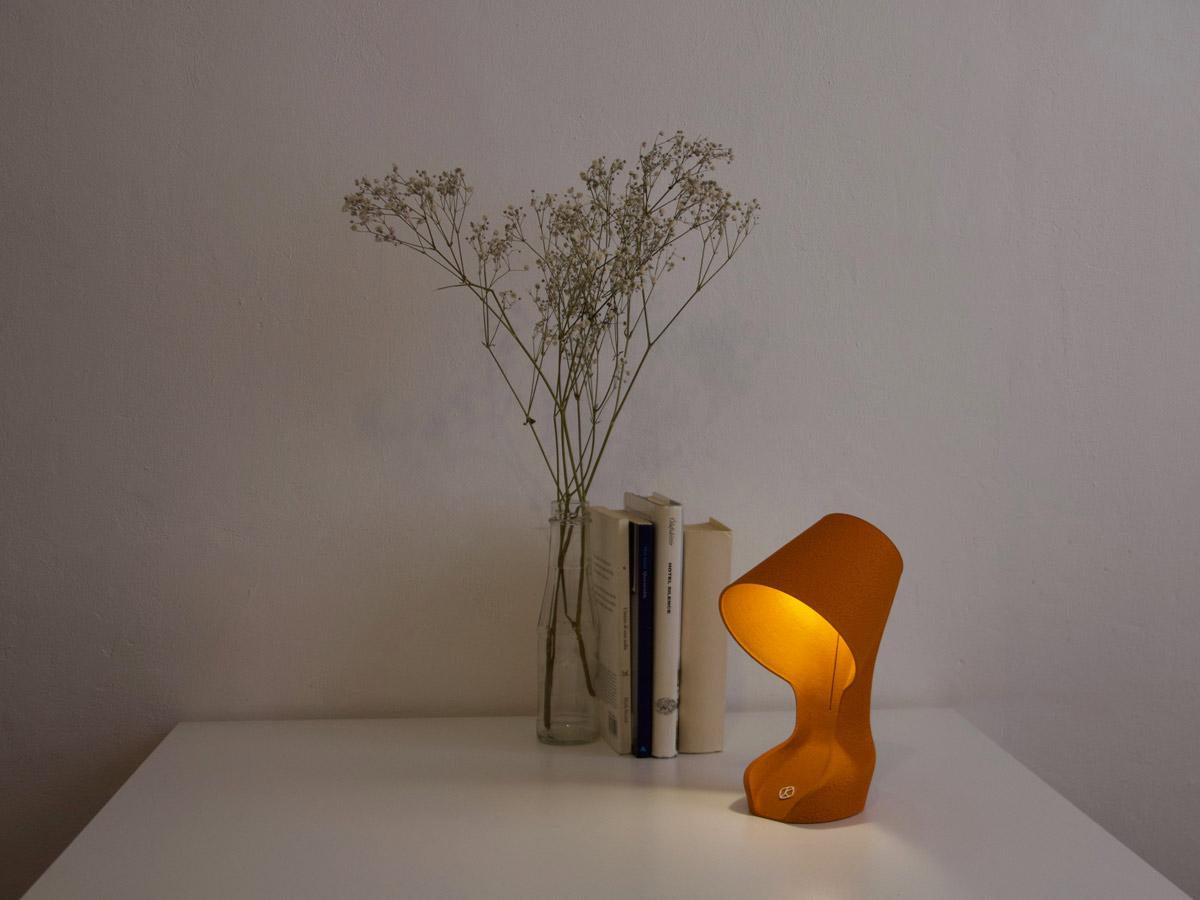 """Bio-Lampe """"Ohmie"""" von Krill Design (Foto: Krill Design)"""